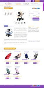 Дизайн страницы товара Royal-Kid