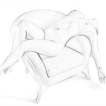 Обработка фото под рисунок карандашом